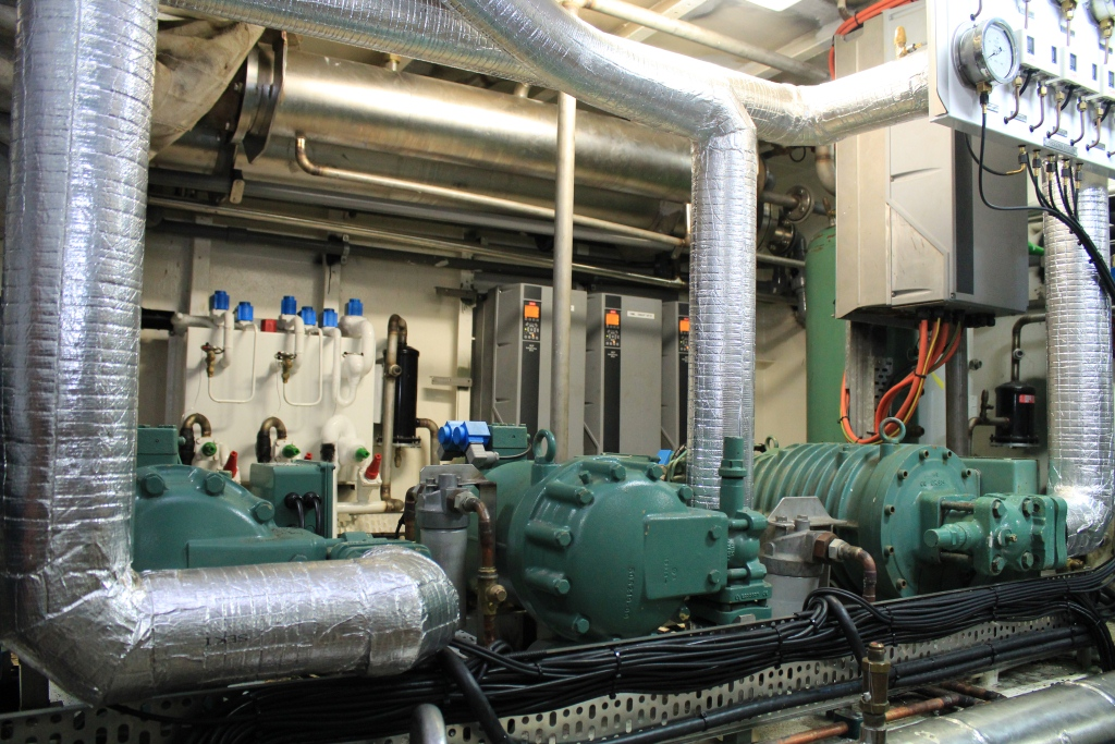 Copy of plant room compressors and vsds